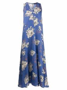 Antonelli floral print dress - Blue