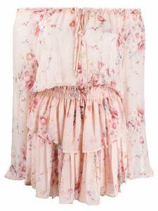 Love Shack Fancy Popover dress - Pink