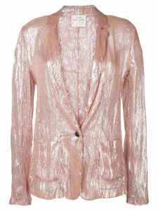 Forte Forte single-breasted blazer - Pink