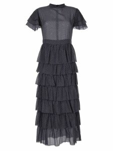 Sir. Frederique tiered dress - Blue