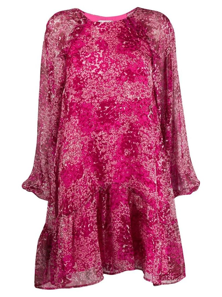Essentiel Antwerp floral print shift dress - Pink