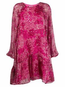 Essentiel Antwerp floral print shift dress - Pink