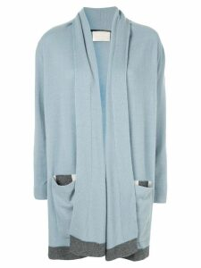 Anteprima cashmere cardi-coat - Blue