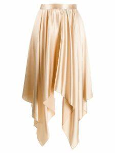 Federica Tosi Sabbia asymmetric skirt - Gold