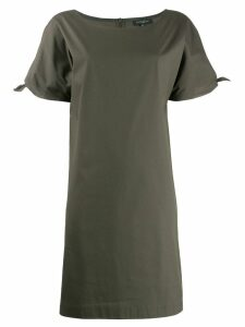 Antonelli tie sleeve dress - Green