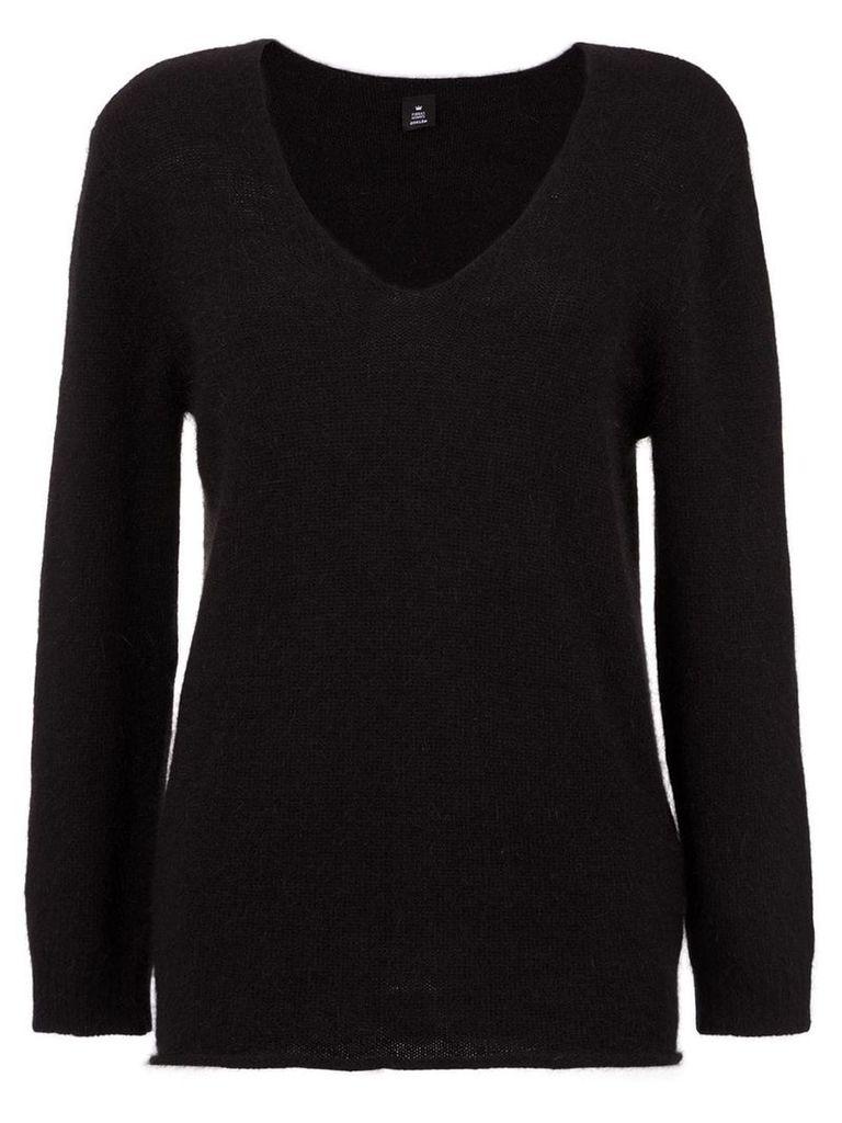 Osklen Fluffy knit sweater - Black