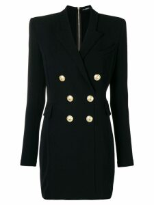 Balmain double-breasted suit dress - Black