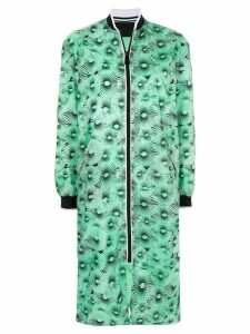 Anteprima parachute print zip coat - Green