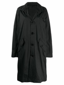 Opening Ceremony logo print trench coat - Black
