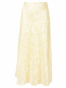 Markarian embroidered daisy skirt - Yellow