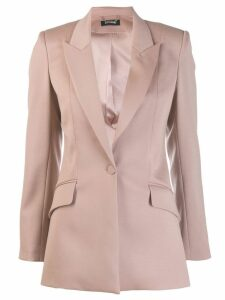 Styland single-button blazer - Neutrals