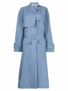 Joseph oversized trench coat - Blue