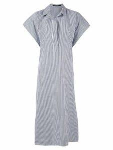 Sofie D'hoore striped shirt dress - Blue