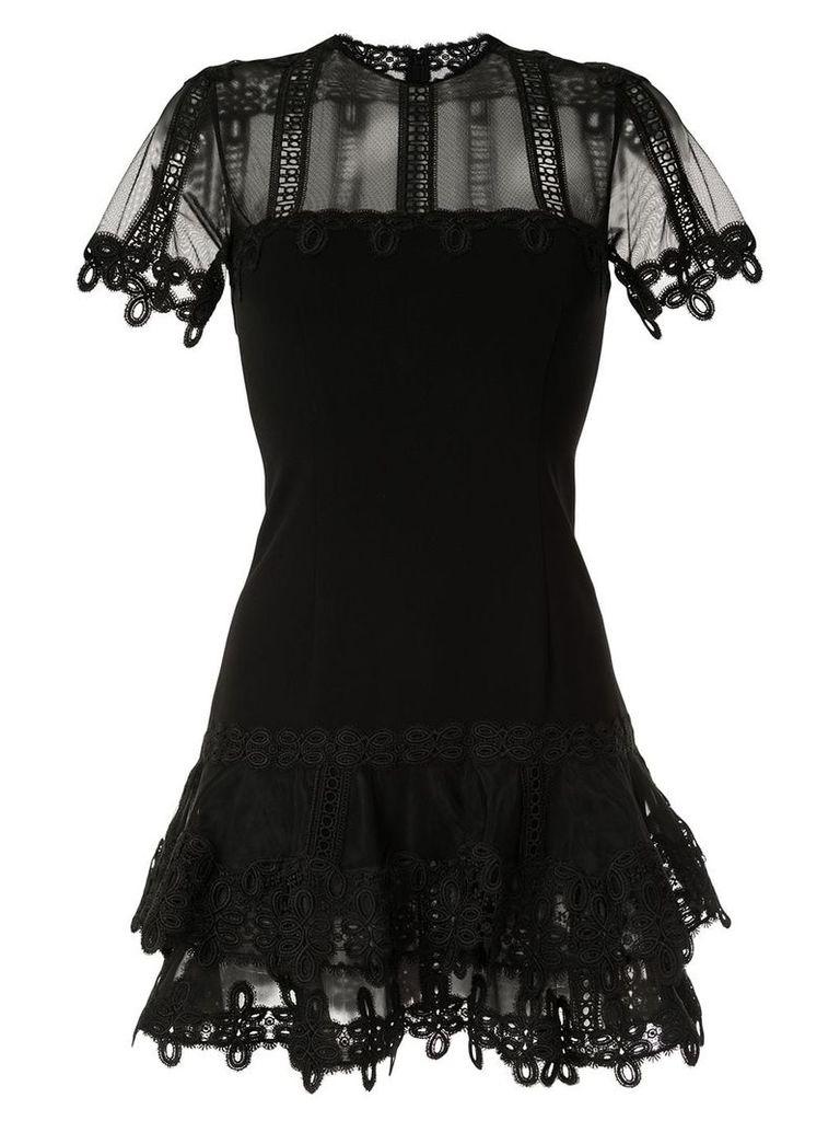 Jonathan Simkhai Guipure lace mini dress - Black