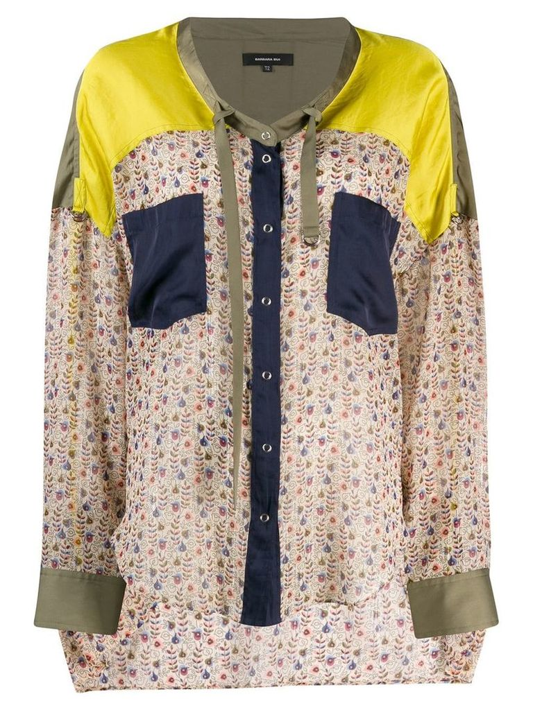 Barbara Bui patterned blouse - Neutrals
