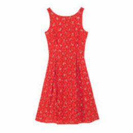 Posey Printed Broderie Anglaise Dress