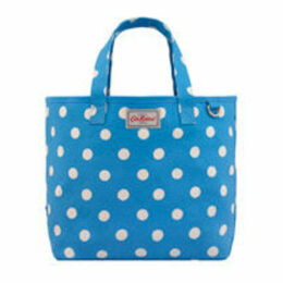 Button Spot Small Drawstring Tote Bag