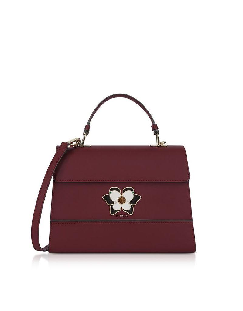 Furla Designer Handbags, RIbes Mughetto Medium Top Handle Satchel Bag