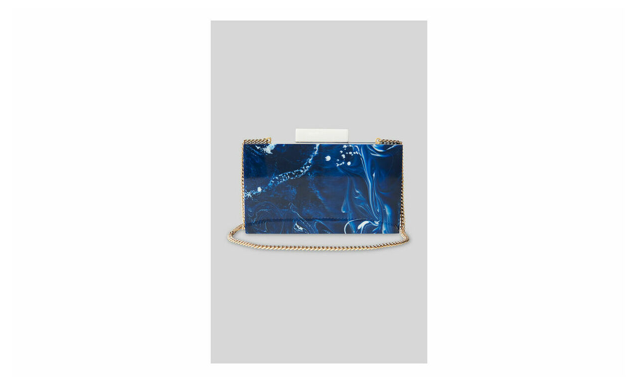 Eleanor Resin Clutch