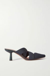Gareth Pugh - Asymmetric Pinstriped Wool-blend Blazer - Gray