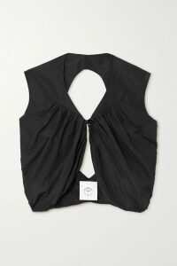 Theory - Cotton-blend Gabardine Maxi Dress - Marigold