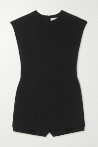 LHD - Ramatuelle Belted Floral-print Cotton-blend Poplin Dress - Purple