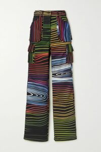 Temperley London - Sycamore Embroidered Sequined Chiffon And Tulle Halterneck Gown - Cream