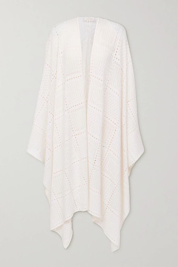 Brunello Cucinelli - Sequin-embellished Cable-knit Cashmere And Silk-blend Sweater - Midnight blue