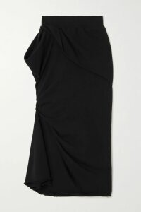 Norma Kamali - Ernie Stretch-jersey Pareo - Bright yellow