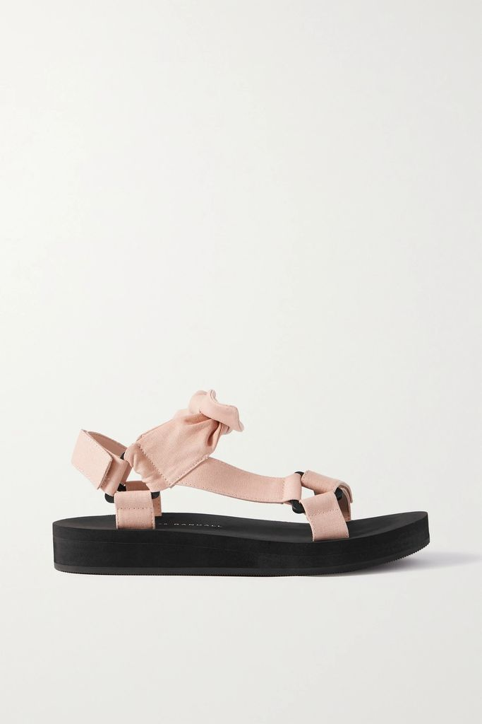Bottega Veneta - Printed Silk-twill Wrap Skirt - Ivory