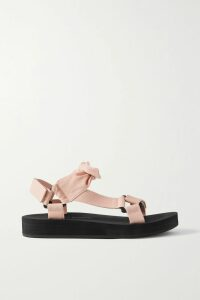 Bottega Veneta - Printed Silk-twill Wrap Skirt - Ivory