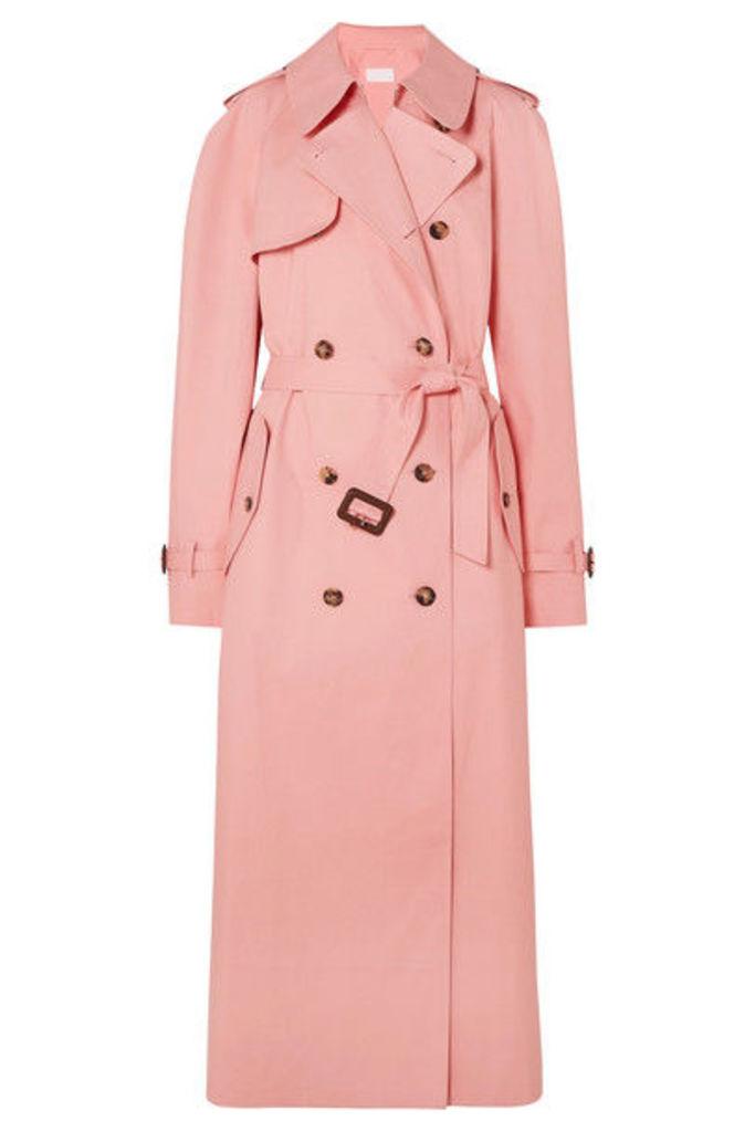 Maison Margiela - + Mackintosh Belted Cotton Trench Coat - Pink