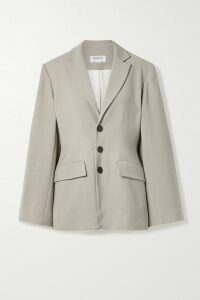 Carolina Herrera - Oversized Floral-print Silk-organza Shirt - Yellow