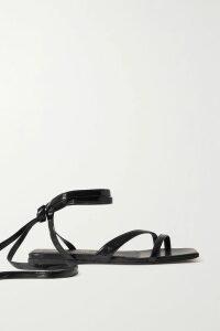 Emilia Wickstead - Floral-print Swiss-dot Cotton-blend Seersucker Shirt - Blue