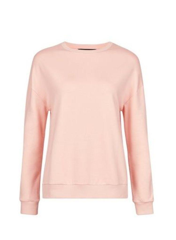 Womens Blush Sweatshirt- Pink, Pink