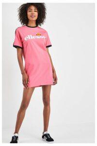 Womens Ellesse Pink Jemerlang Tee Dress -  Pink