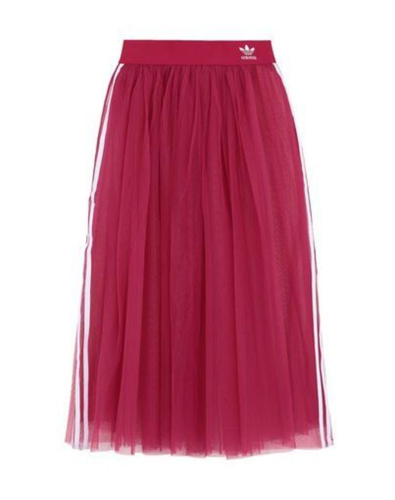 ADIDAS ORIGINALS SKIRTS 3/4 length skirts Women on YOOX.COM