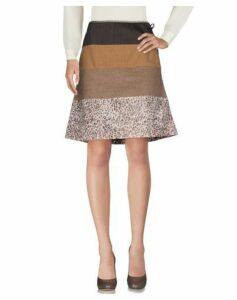 TESSUTO DELLA MEMORIA by MALÌPARMI SKIRTS Knee length skirts Women on YOOX.COM