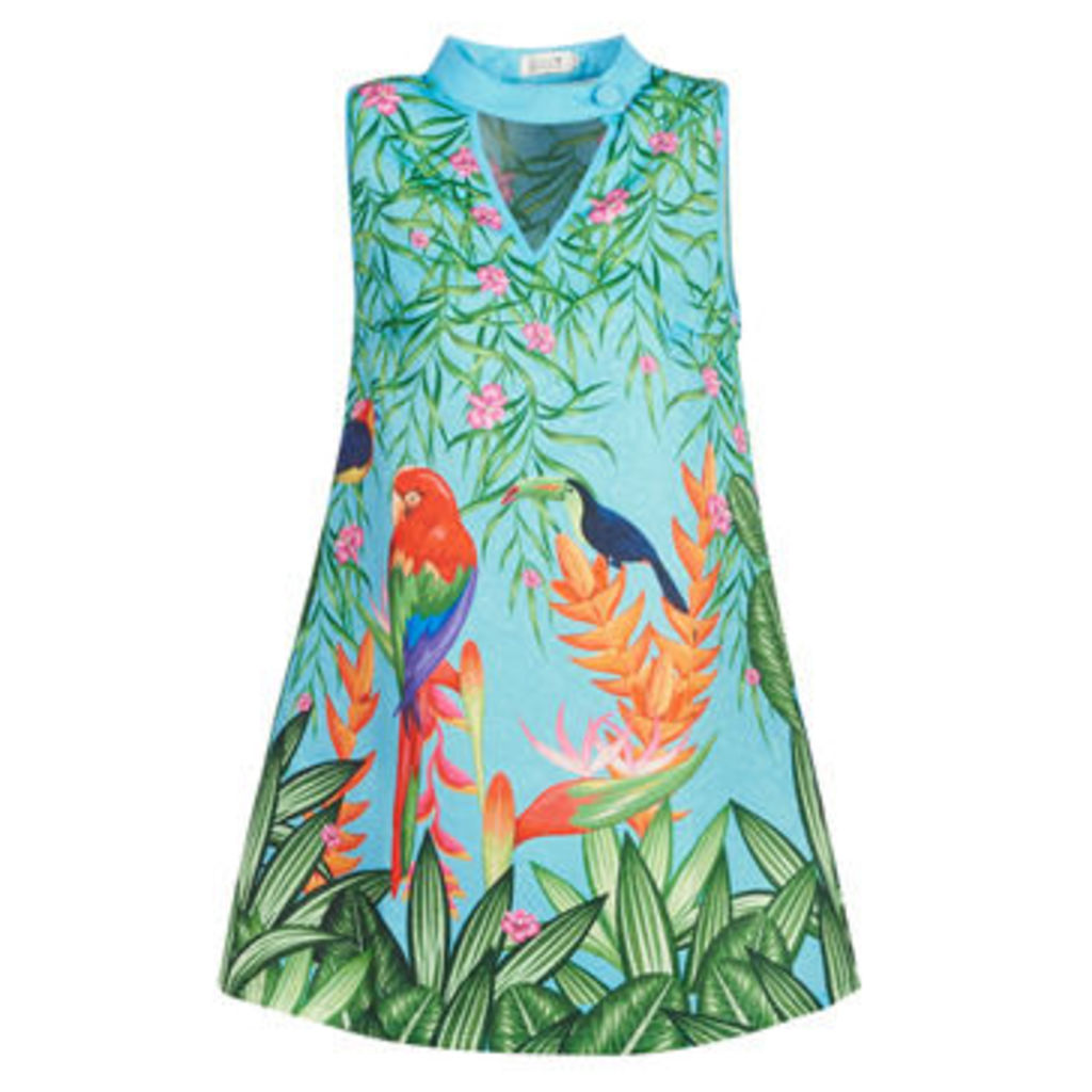 Molly Bracken  MOLLIATEVE  women's Dress in Blue