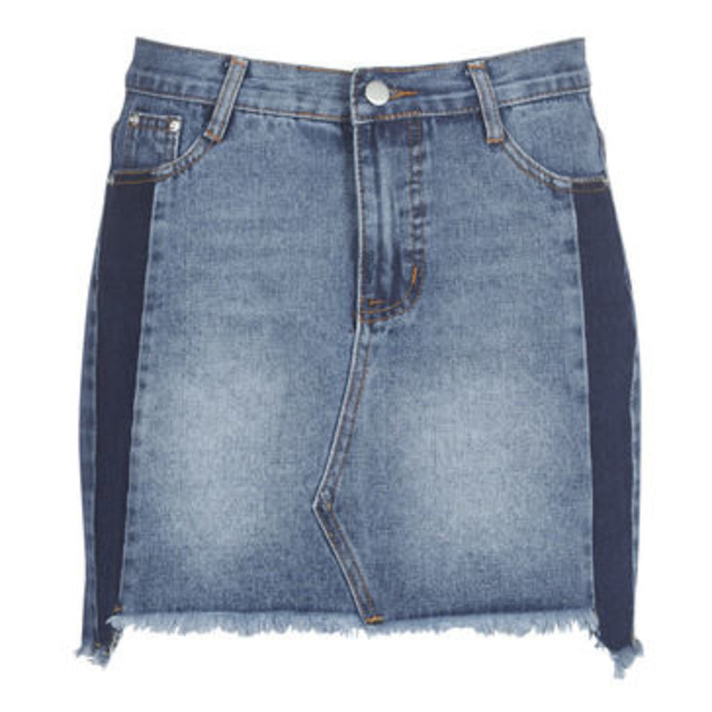 Molly Bracken  MOLLIOTEVE  women's Skirt in Blue