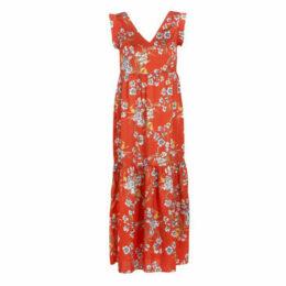 Betty London  KOUDOLE  women's Long Dress in Red