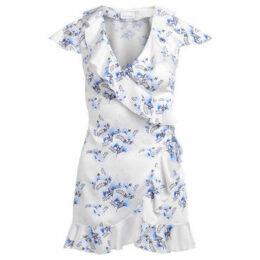 Chiara Ferragni  Chiara Ferragni white mini dress with flower print  women's Dress in Other