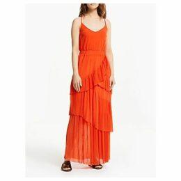 Gestuz Adrianna Ruffle Dress, Pumpkin