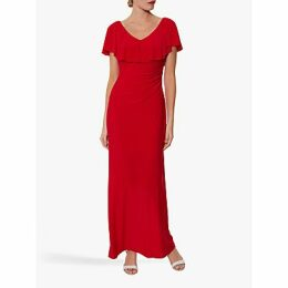 Gina Bacconi Bellina Frill Maxi Dress