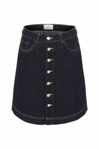 Womens Damsel In A Dress Blue Mea Smart Denim Skirt -  Blue