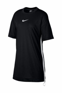 Womens Nike Swoosh Dress -  Black