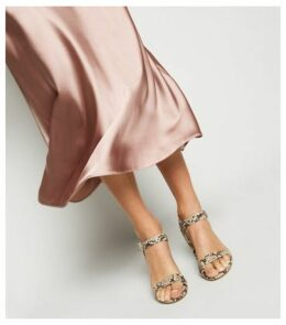 Mid Pink Satin Bias Cut Midi Skirt New Look