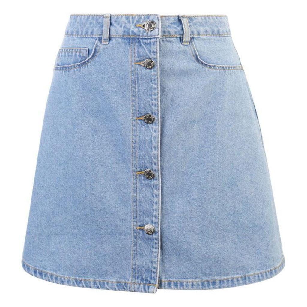 Noisy May Sunny Denim Skirt