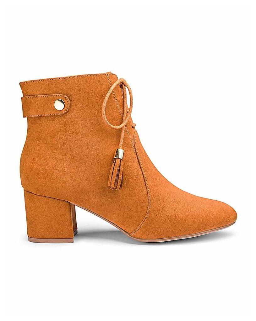 Joe Browns Tassel Ankle Boot Wide Fit