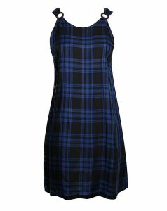 Lovedrobe GB Blue Check Dress